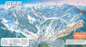 Map Of Colorado Ski Areas by Stevens Pass Trail Map Mountains I U0027ve Boarded Pinterest