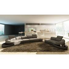 Curved Contemporary Sofa by Contemporary U0026 Luxury Furniture Living Room Bedroom La Furniture