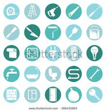 Decoration Icon Stock Images RoyaltyFree Images  Vectors - Home construction and decoration