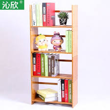 bureau etagere pas cher pas cher bambou table en bois livraison assemblée bibliothèque