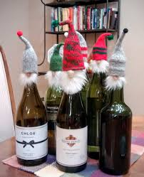 Great Hostess Gifts Mini Hat Wine Bottle Topper Hostess Gift Teacher By Jeanbeangifts