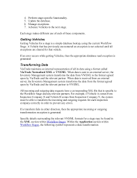 inventory management technical specification document