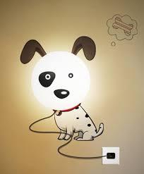 nachtlicht für kinderzimmer nachtlicht hund 3d wandsticker kinderzimmer