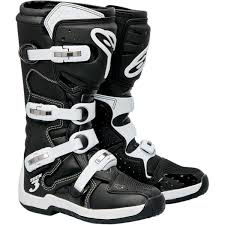 leather motocross boots new alpinestars tech 3 motocross boots ebay
