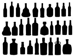 wine silhouette bottle silhouette free download clip art free clip art on