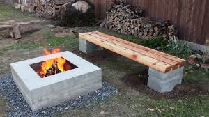 Building Outdoor Fireplace With Cinder Blocks by Diy Cinder Block Fire Pit Fire Pit Ideas