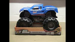 bigfoot presents meteor monster trucks road rippers the biggest bigfoot monster truck toy youtube