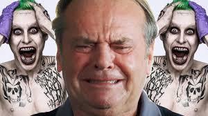 Jared Leto Meme - watch jack nicholson react to jared leto s joker photo reveal