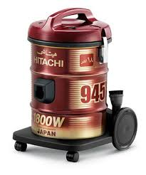 Steam Vaccum Cleaner Hitachi Cv 945y Steam Vacuum Cleaner Wine Red Review And Buy In