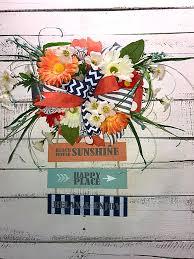 summer door hanger beach house door décor summer wreath summer