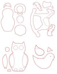 free patterns for felt ornaments vintage craft