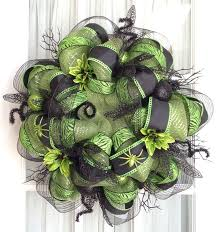248 best a wreaths halloween images on pinterest deco mesh