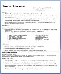 pharmacy technician resume help