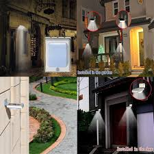 Garden Wall Lights Patio by Urpower 16 Led Outdoor Solar Lights Urpower Official Website