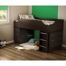 South Shore Treehouse Twin Loft Bed Chocolate Walmartcom - South shore bunk bed