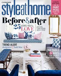 28 home decor magazine canada falls design design crush home decor magazine canada style at home canada magazine 2016 full year issues