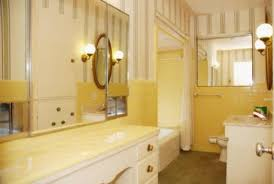 Yellow Bathroom Decorating Ideas Yellow Tile Bathroom Decorating Ideas Home Design And Decorating