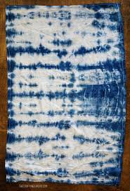 Dying A Rug Shibori Dyeing Kitchen Towels The Crafting