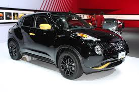 nissan juke yellow spoiler 2016 nissan juke gets stinger edition personalization package