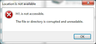 drive not accessible solved fix drive not accessible file or directory is corrupted