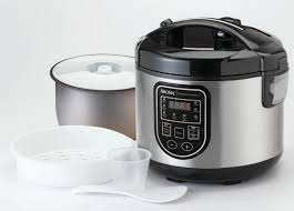 stoneware rice cooker aroma 20 cup professional digital rice cooker food steamer and