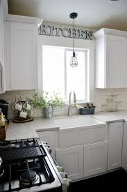 over the kitchen sink lighting 7 best kitchen lighting over sink images on pinterest home ideas