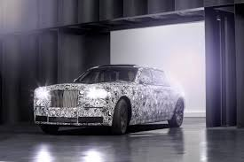 roll royce car 2018 rolls royce testing aluminum frames tech still planned fleetwide