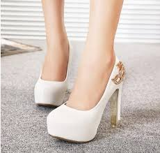 wedding shoes thick heel rhinestone fox mask bridal heels white heel ivory shoes