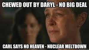 Walking Dead Carol Meme - will brighton lizzie be returning to season 5 page 4 walking