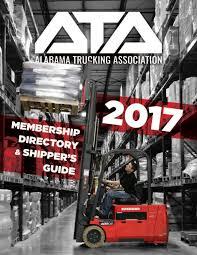alabama trucking association 2017 membership directory u0026 shipper u0027s