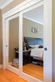 Sliding Closet Door Ideas by Sliding Closet Doors With Mirrors 4381