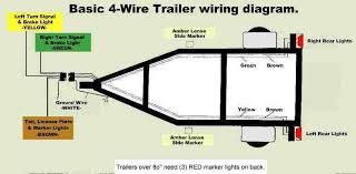 four wire trailer wiring diagram spitz diagram wiring diagrams