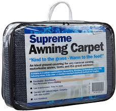Caravan Awning Carpet Streetwize Lwbg2550 Supreme Awning Carpet Blue Grey Amazon Co
