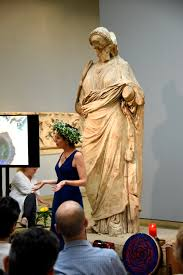 file room 21 the british museum london an actress performing a