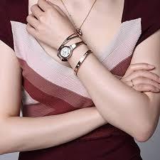 rose gold bracelet set images Anne klein women 39 s ak 2245rtst swarovski crystal accented rose jpg