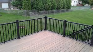 deck railing minneapolis carter custom construction