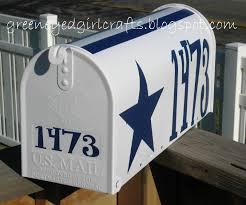 Dallas Cowboys Home Decor Green Eyed Crafts Custom Dallas Cowboy Mailbox