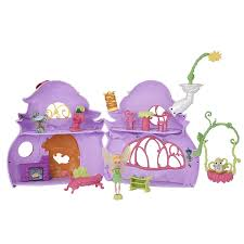 amazon com disney fairies ultimate fairy house tink u0027s pixie