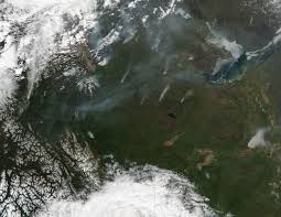 Wildfire Canada Today by Intense Fires In Northern Canada Image Of The Day