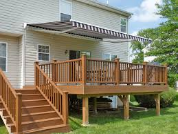 Wood Awning Design Amazing Custom Deck Awnings For Homemade Deck Awning Ideas And