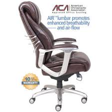La Z Boy Executive Office Chair La Z Boy Cantania Comfort Core Innovations Air Technology