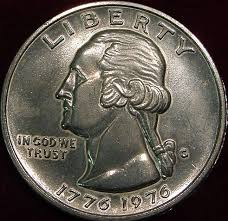 1776 to 1976 quarter dollar 1776 1976 bicentennial quarter large size