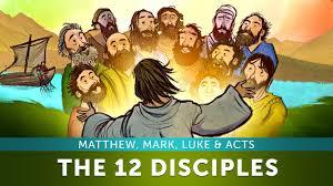 sunday lesson for kids the 12 disciples matthew mark