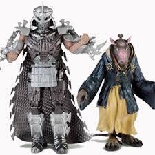 tmnt toys reveal splinter and the shredder the escapist