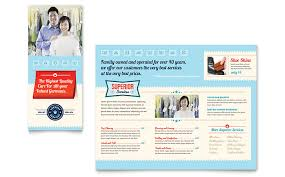 laundry services brochure template word u0026 publisher