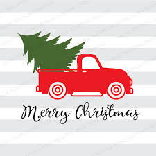 christmas tree delivery vintage truck christmas tree delivery svg dxf png pdf jpg ai