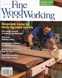 nick offerman is featured in this fine woodworking magazine
