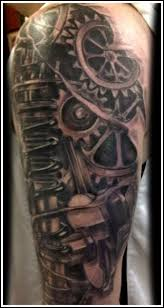 64 best bio organic mechanical tattoos images on pinterest