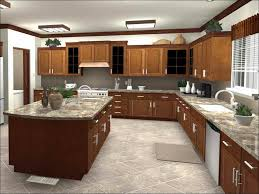Kitchen White Appliances Black Countertop White Cabinets Fancy
