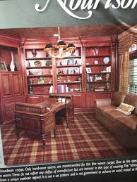 beautiful tartan carpet for a study or dining room wallpaper